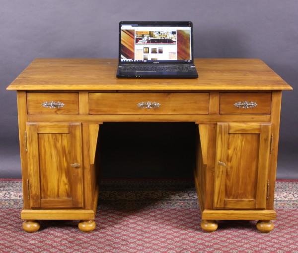 Antiker Jugendstil Schreibtisch Weichholz