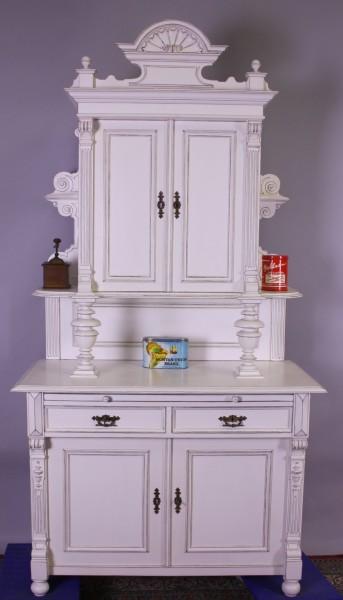 Kabinettschrank komplett restauriert shabby-chic-stil