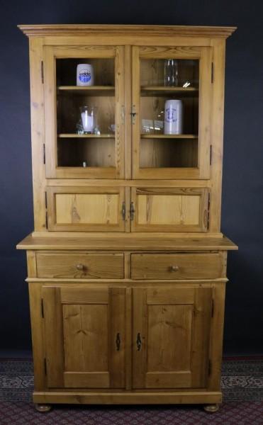 Antiker Küchenschrank Weichholz Biedermeier