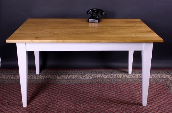 Neuer Tisch auf Maß Kirschhbaumplatte