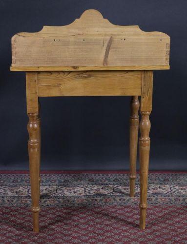 antiker schminktisch telefontisch weichholz gr nderzeit ebay. Black Bedroom Furniture Sets. Home Design Ideas