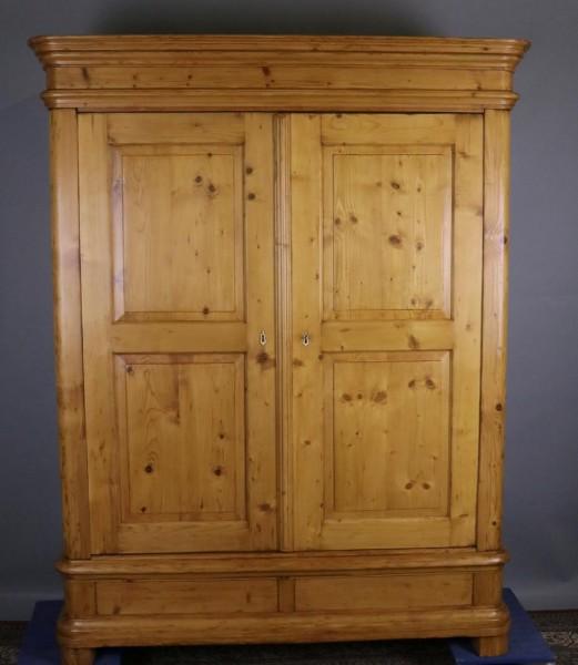 Antike Möbel Schrank Weichholz Biedermeier