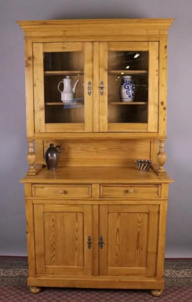 Antiker Küchenschrank Weichholz um 1870 gefertigt