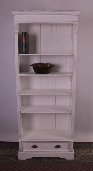 Bücherregal weiß shabby-chic / vintage-Stil
