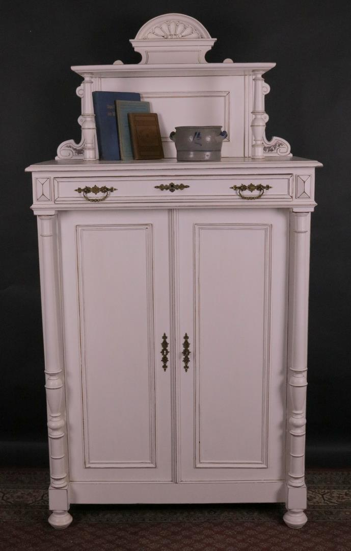 antikm bel vertiko weiss shabby chic gr nderzeit. Black Bedroom Furniture Sets. Home Design Ideas