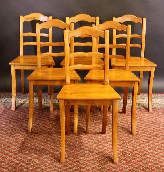 Antike Stühle Kirschbaum 6er-Set