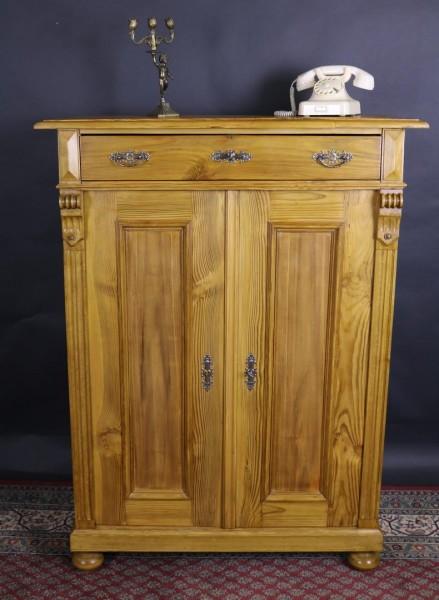 Antike Möbel Vertiko Weichholz Gründerzeit um 1880