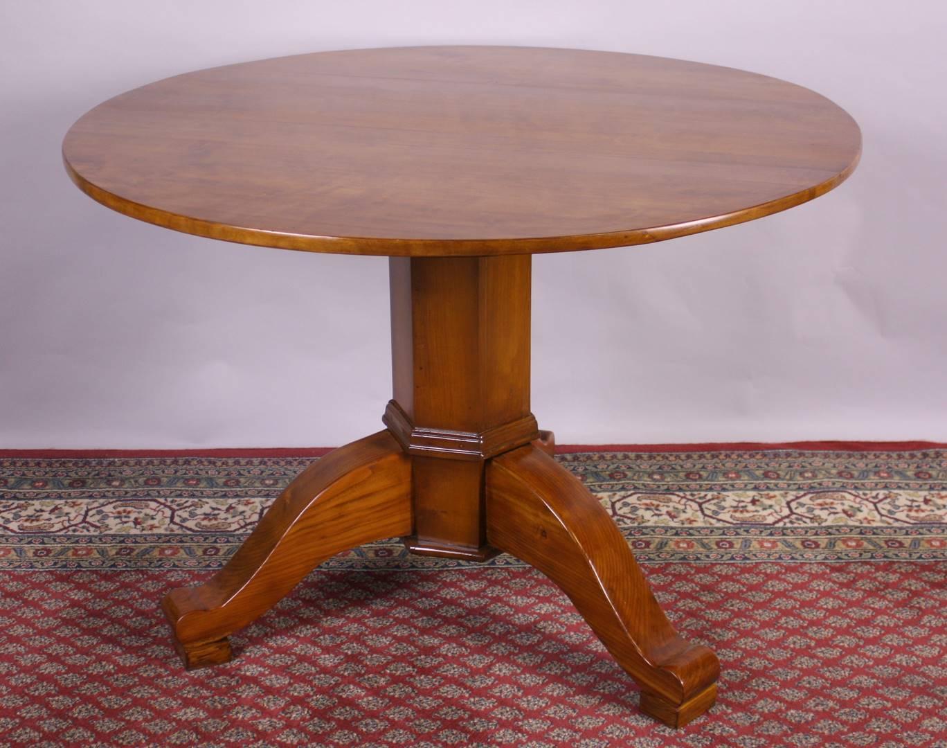 Kirsch tisch rund kohler for Tisch antik