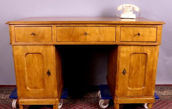Antiker Schreibtisch Kirschbaum / Birne