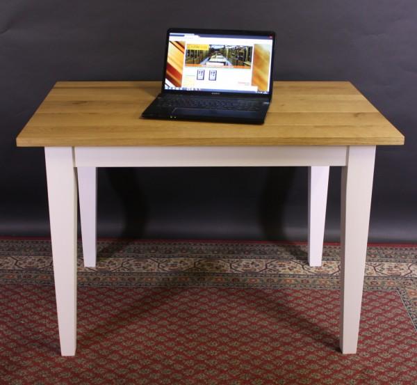 Maßmöbel nach Wunsch Tisch Eiche natur / weiß