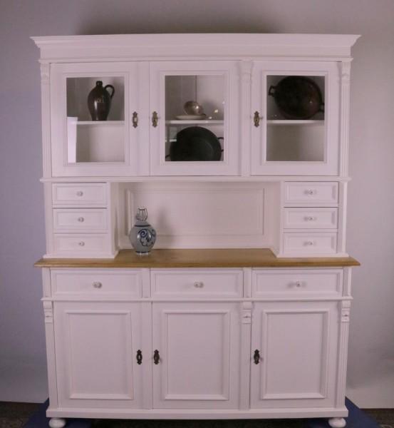 Repro Küchenschrank weiß/natur TOP Qualität